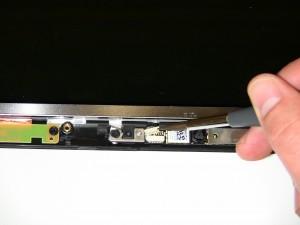 Remove the LCD camera.