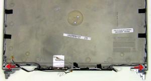 Remove the (2) 2.5mm x 5mm hinge screws.