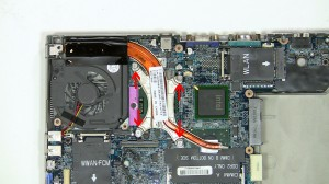 Remove the heat sink from the motherboard.