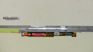 Remove the LCD inverter screw.