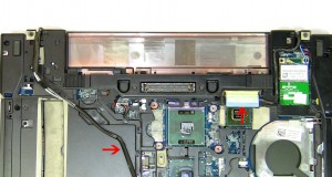 Unscrew the (2) 2.5mm x x5mm hinge screws.