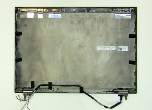 The remaining piece is the LCD back cover assembly.