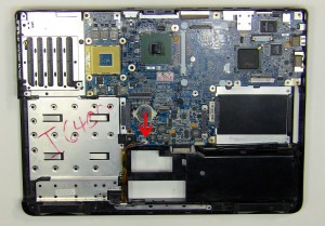 dell inspiron 6400 e1505 motherboard removal and installation. Black Bedroom Furniture Sets. Home Design Ideas