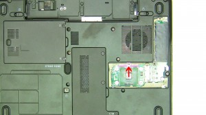 Lift the CPU processor away from the motherboard.