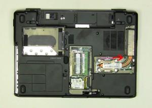 Remove the (3) 2mm x 3mm bottom base screws.