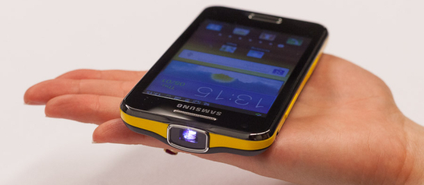 Samsung Galaxy Beam Projector Phone – A Quick Look