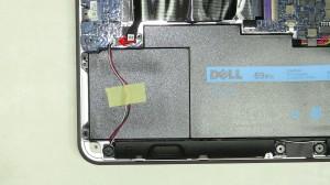 Unplug the unplug the speaker cable.