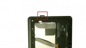 Press a paperclip into the ejector hole until the SD card carrier ejects.