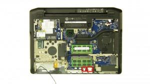 Unplug and loosen the hall sensor cable.