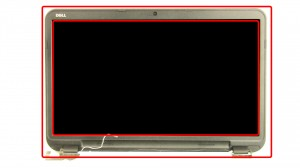 Unsnap the LCD Bezel, working you way around the edge of the screen.