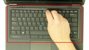 Remove the keyboard bezel.