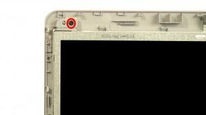 Remove top screen screws.