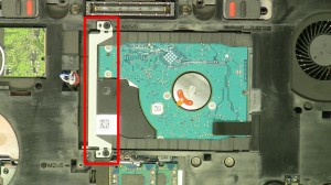 Remove the hard drive bracket.