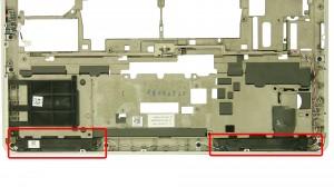 Remove the speaker screws.