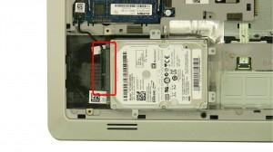 Unplug the Hard Drive Connector.