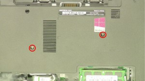 Remove the bottom keyboard screws.