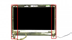 Remove the LCD Hinges.