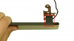 Remove the left & right hinge covers.