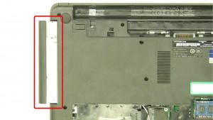 Remove the screw.