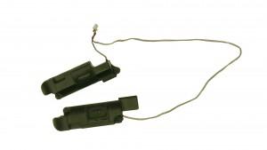 Loosen the right speaker screws.