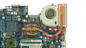 **Cleaning the heatsink & replacing thermal compound is needed before reinstalling the heatsink.