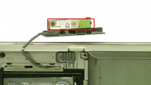 Separate the bluetooth card and the door.