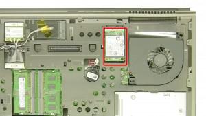Remove the mSATA SSD hard drive.