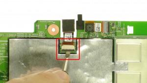 Unplug & remove the Rear Facing Camera.