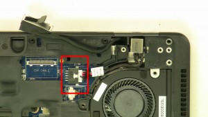 Remove DC Jack cable.