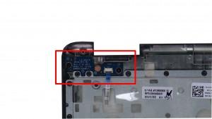 Remove screws (2 x M2 x 3mm).