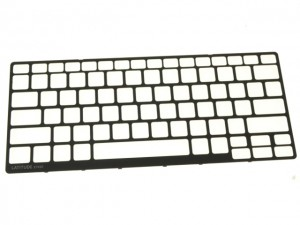 Using a plastic scribe or small flat head screwdriver, carefully pry up the Keyboard Bezel & remove it from the laptop.