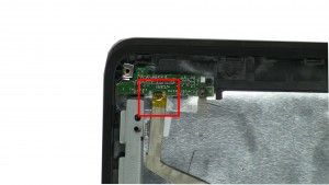 Remove cable from LED Circuit Board.