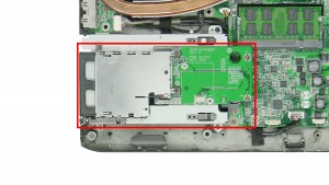 Remove the ExpressCard Assembly.
