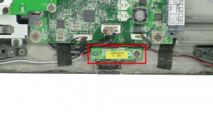 Remove the Infrared Circuit Board.