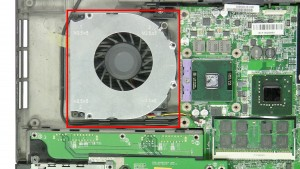 Remove the CPU Cooling Fan.