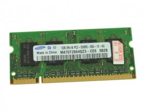 Separate the clips & remove the RAM Memory.