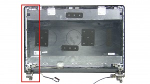 Remove the left LCD Hinge.