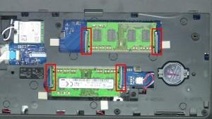 Dell Inspiron 15-5555 (P51F-002) RAM Memory Removal