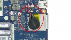 Unplug and remove the CMOS Battery.