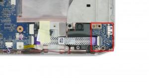 Remove the USB / Audio Circuit Board.