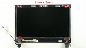 Unscrew and turn over LCD Screen.