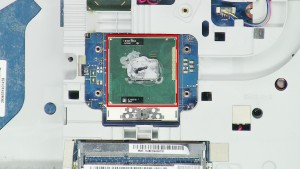Remove the CPU Processor from the motherboard.