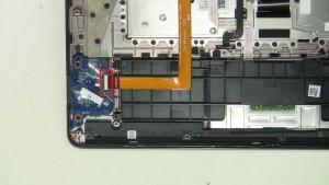Unplug and remove cable.