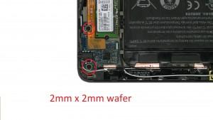 Unscrew and remove Audio Circuit Board (2 x