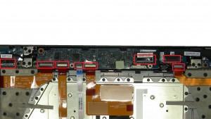 Unplug and remove cables.