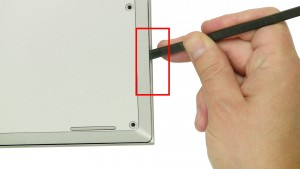 Remove the 9 - M2.5 x 6mm screws.