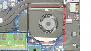Remove the Left-Side Cooling Fan.