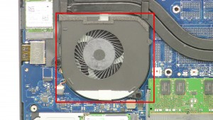 Remove the Right-Side Cooling Fan.