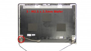 Remove the 3 - M2.5 x 2.5mm Wafer screws.