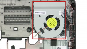 Remove the Right Cooling Fan.